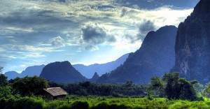 Vang-Vieng Laos